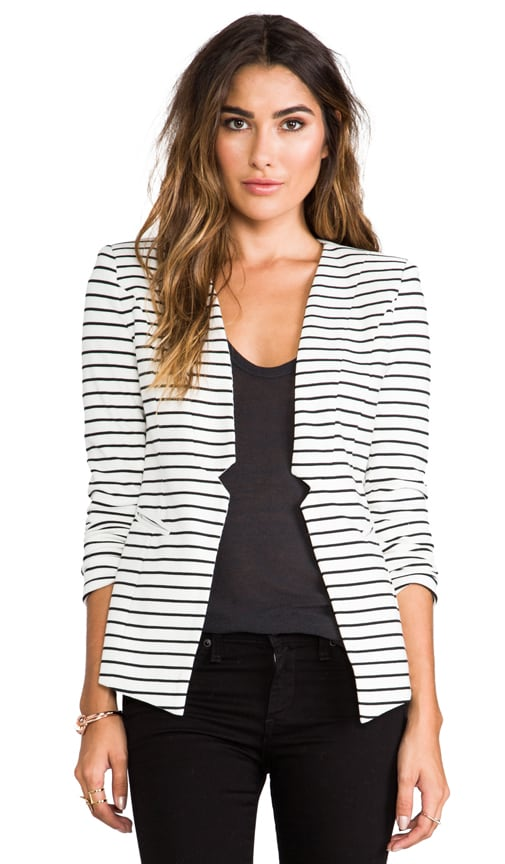 Sleek Stripe Blazer