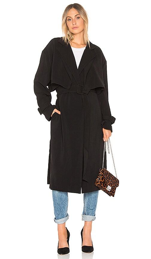 ELLIATT Coppelia Coat in Black