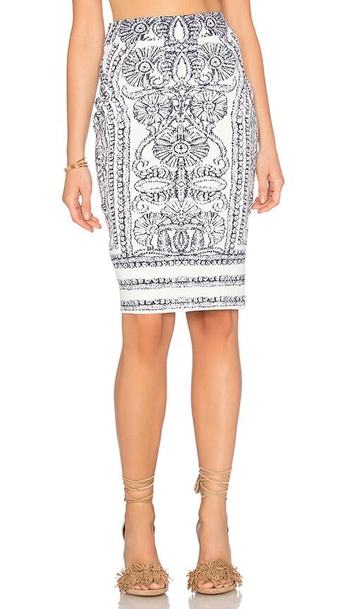 ELLIATT Elements Skirt in Ivory