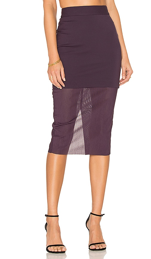 ELLIATT Allure Skirt in Purple