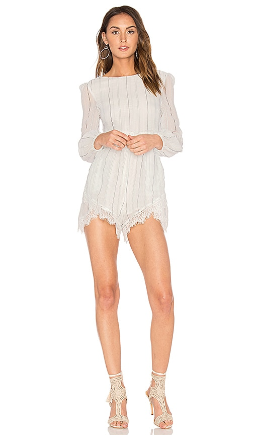 ELLIATT Infinity Romper in White