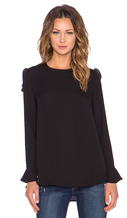 ELLIATT Venture Top in Black