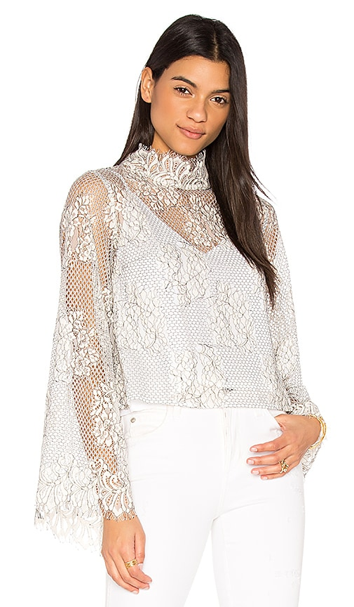 ELLIATT Reflections Top in White