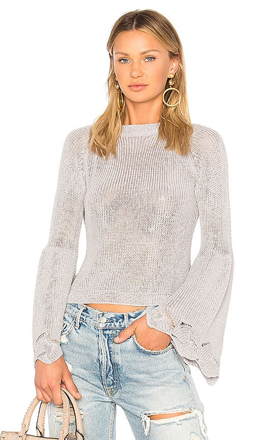ELLIATT Soleil Knit Top in Purple