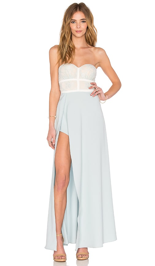 Elle Zeitoune Isabella Dress in Baby Blue