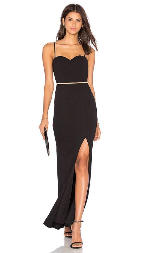 Elle Zeitoune Novo Dress in Black