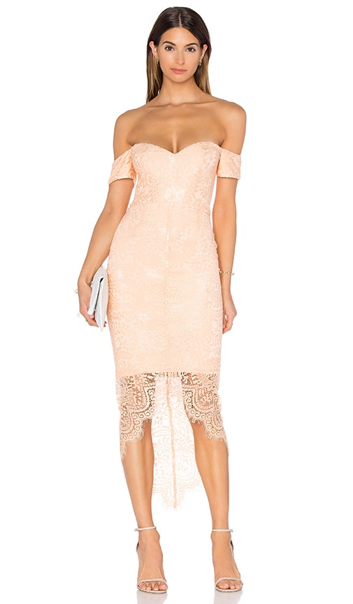 Elle Zeitoune Jennifer Dress in Peach