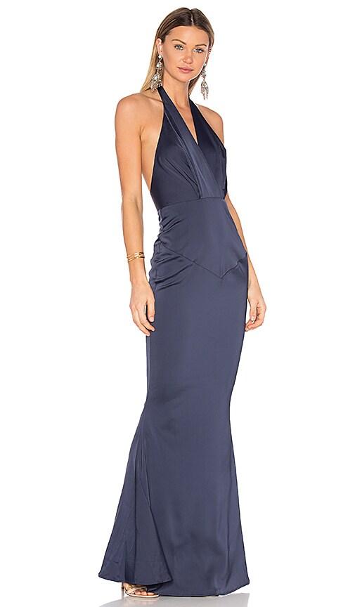Elle Zeitoune Daniella Gown in Blue