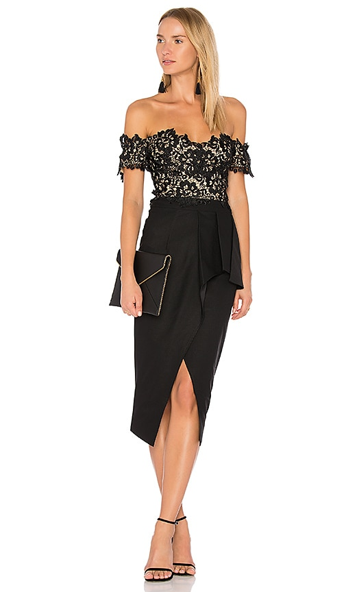 Elle Zeitoune Tango Dress in Black