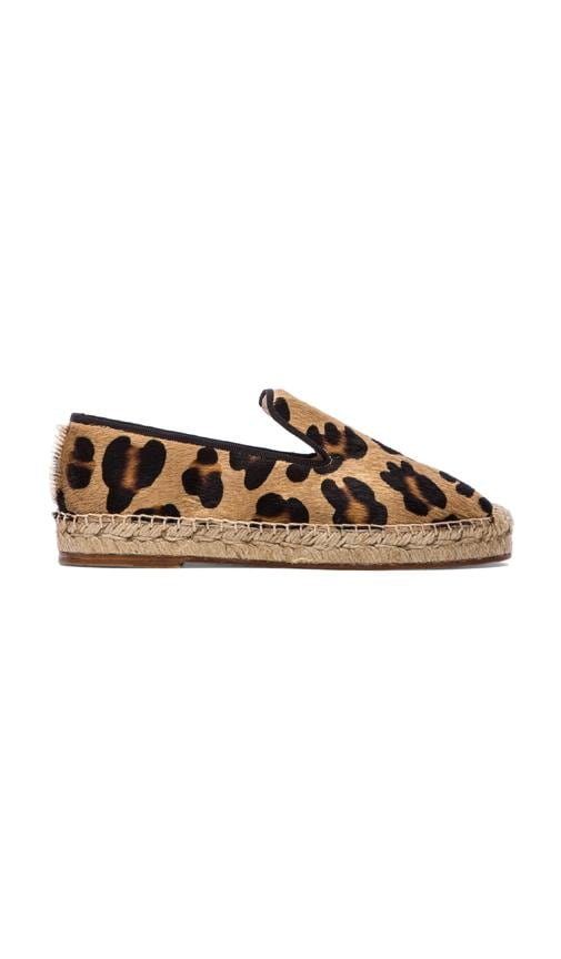 Dee Espadrille with Calf Fur