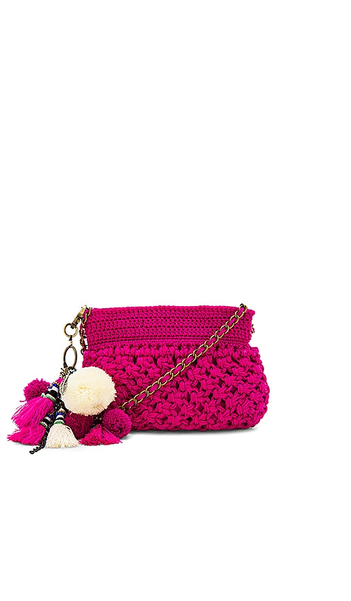 Elliot Mann Dune Eve Crossbody Bag in Fuchsia