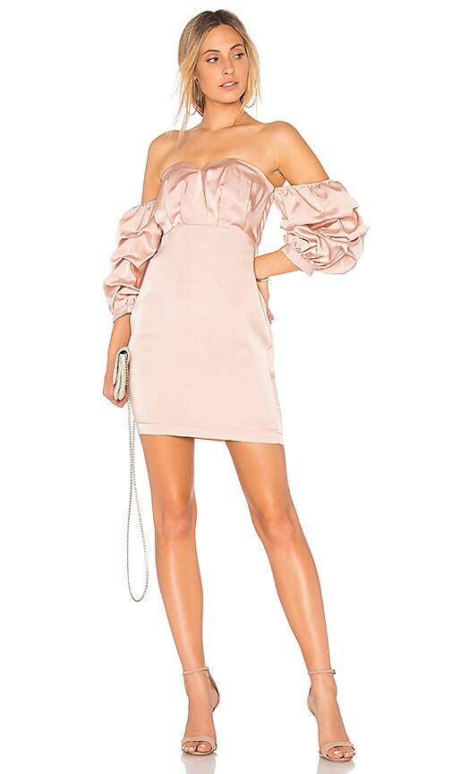 Endless Rose Satin Dress in Pink