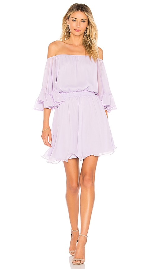 X REVOLVE Ruffle Mini Dress