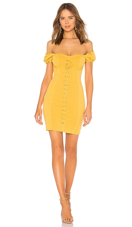 Lace Up Corset Dress