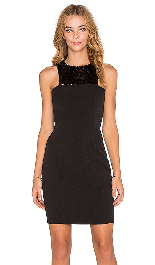 Endless Rose Cleo Sequin Mini Dress in Black