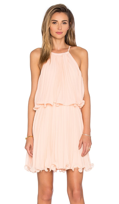 Endless Rose Ariana Dress in Peach