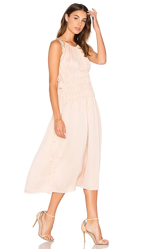 Endless Rose Strappy Maxi Dress in Pink