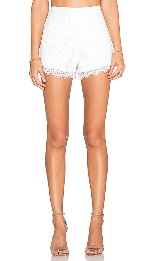 Endless Rose Marella Shorts in White