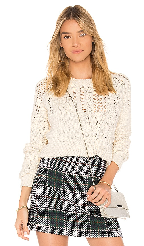 Endless Rose Chunky Sweater in Cream