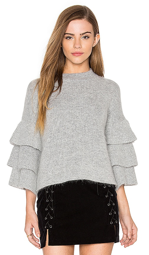 Exaggerated Sleeve Sweater