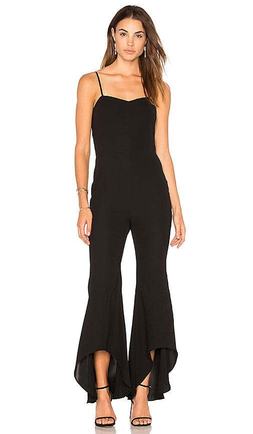 HIGH LOW FLARE JUMPSUIT Endless Rose