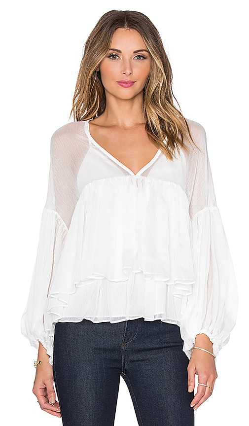Endless Rose Brisa Alize Top in White