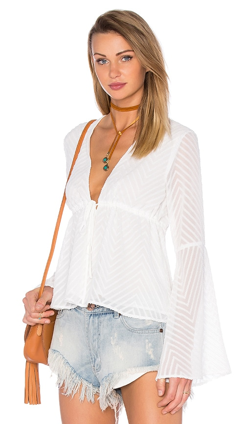 V Neck Blouse 112