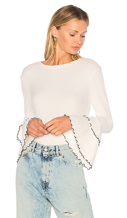 Endless Rose Bell Sleeve Top in Ivory