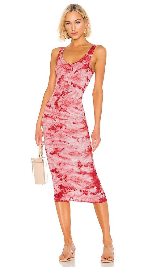 Silk Rib Tank Dress