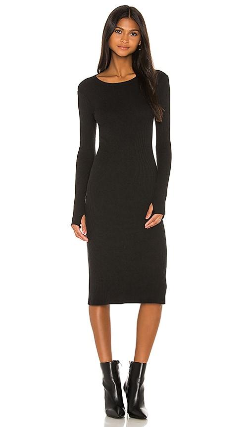 X REVOLVE Rib Midi Dress