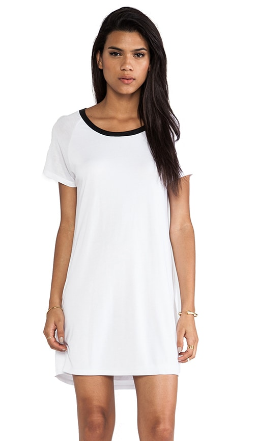 Short Sleeve Raglan Dress