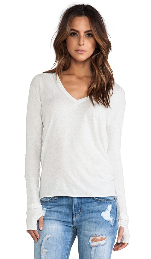 Cashmere Loose V Sweater
