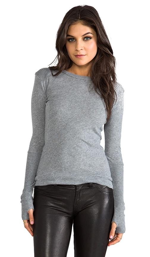 Cashmere Moto Pullover Sweater