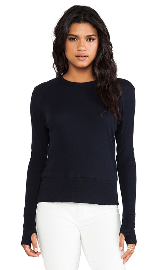 Cashmere Long Sleeve Raglan