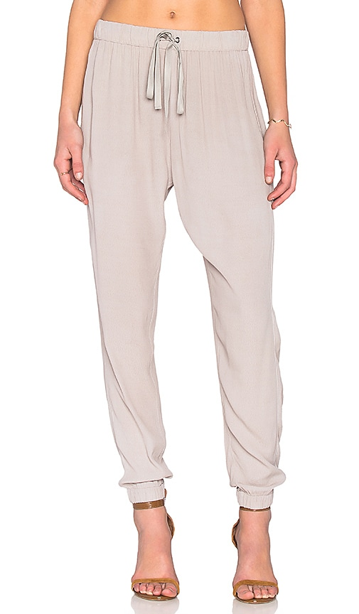 Enza Costa Lounge Pant in Gray