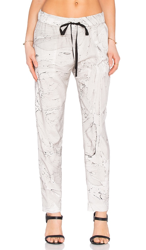 Enza Costa Easy Pant in Gray