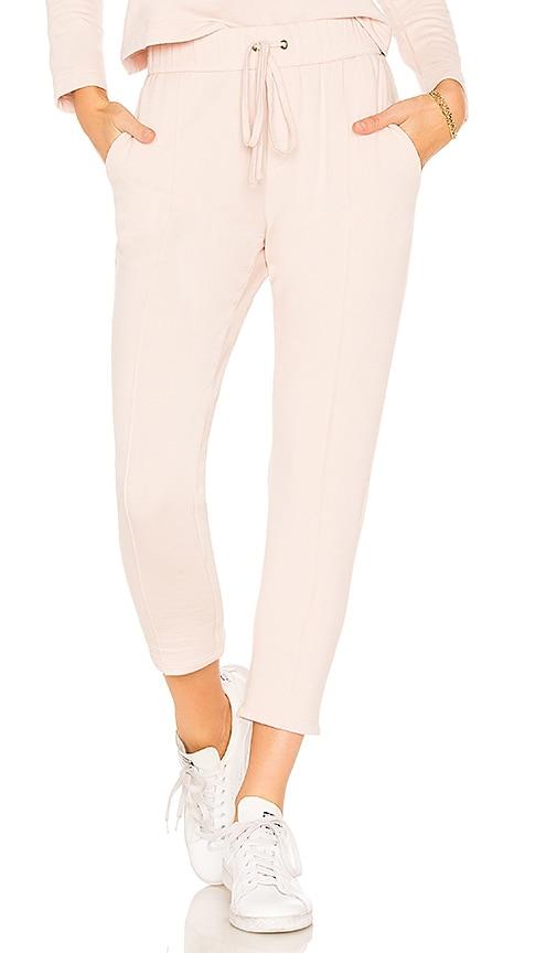 Enza Costa Pintuck Pant in Pink