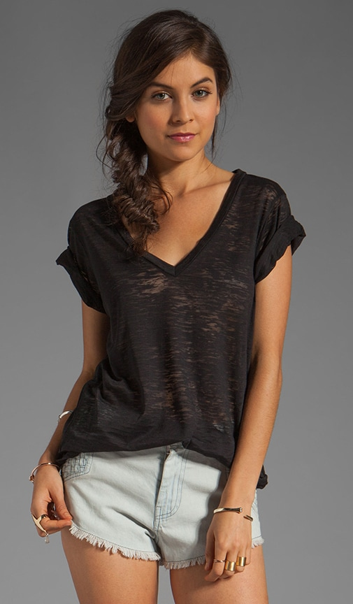 Stratus Jersey Loose V-Neck