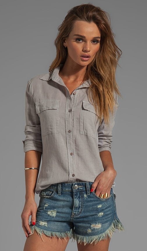 Izar Linen Fitted Shirt