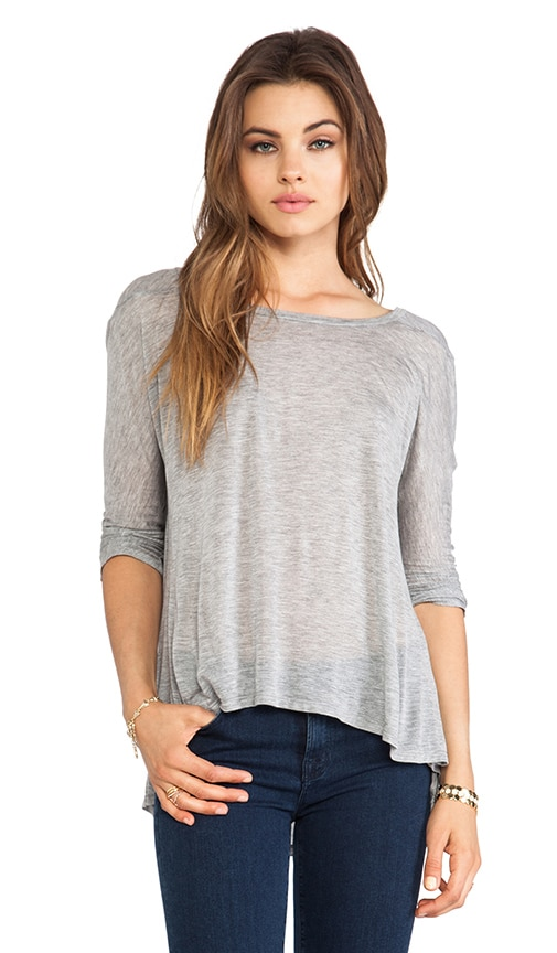 Half Sleeve Drape Top