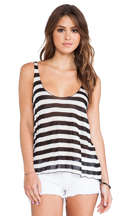 Stripe Loose Tank