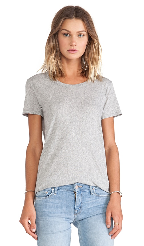Tissue Jersey Loose Short Sleeve Crew