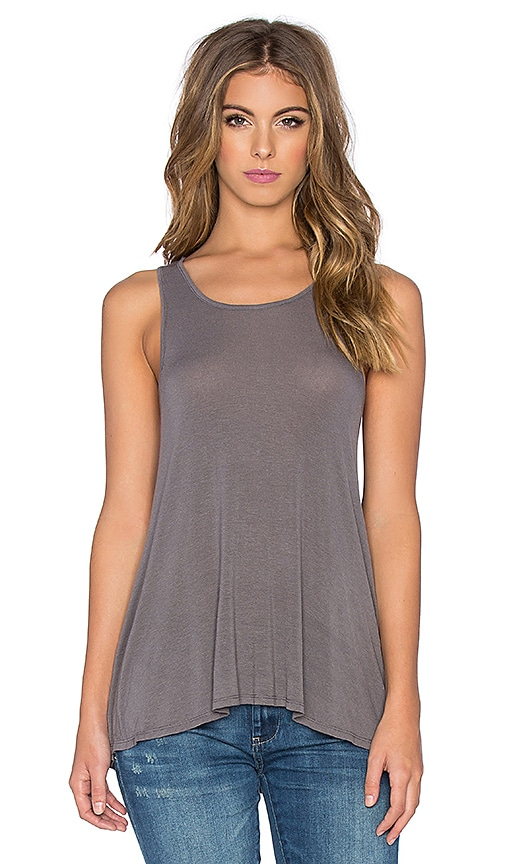 Enza Costa Swing Tank in Gray
