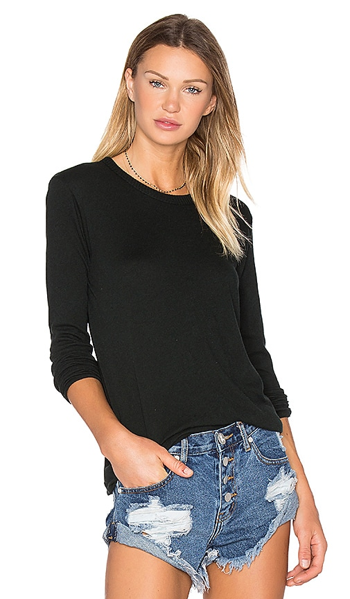 Cashmere Loose Crew Neck Top