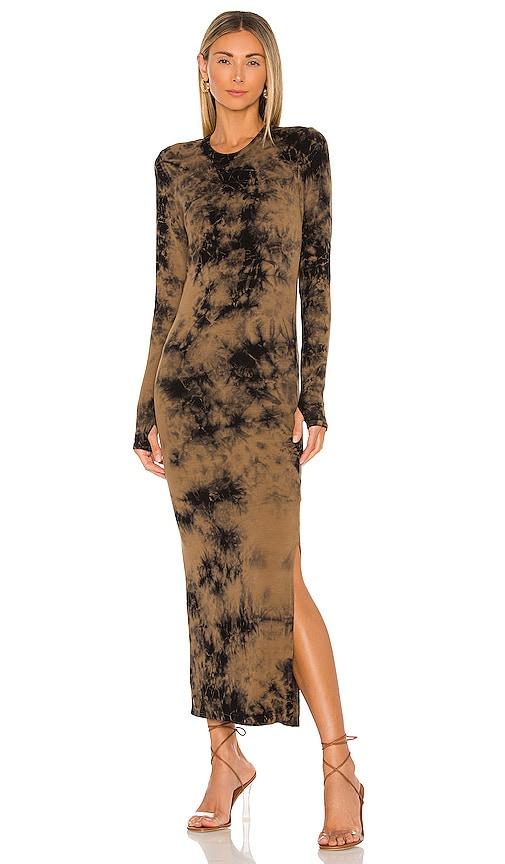 Electric & Rose Robin Maxi Dress in Amber & Onyx | REVOLVE
