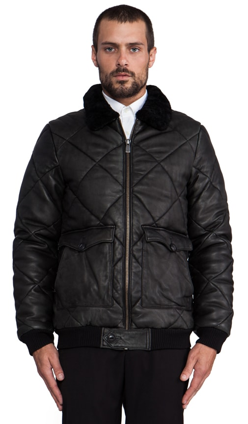 Vladim Quilted Bomber