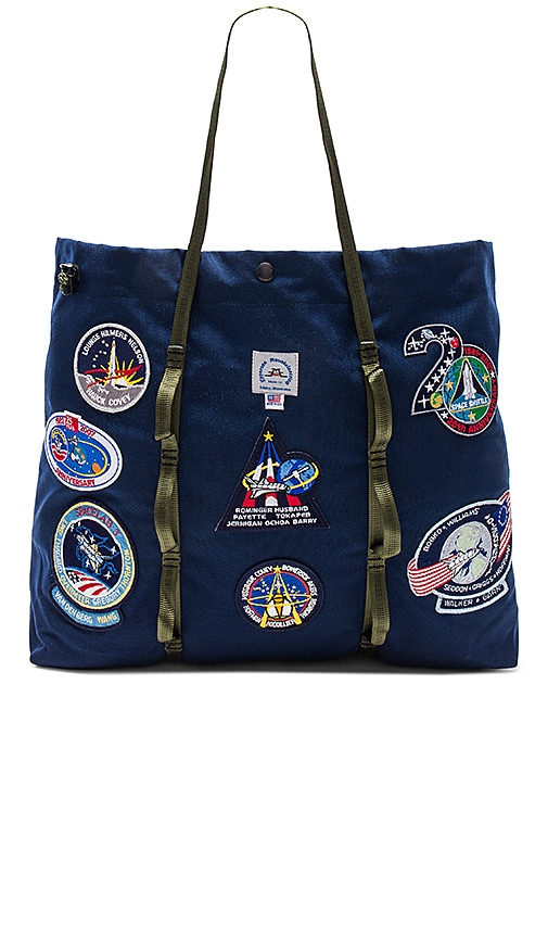 Epperson Mountaineering Vintage NASA Patch Large Tote in Navy