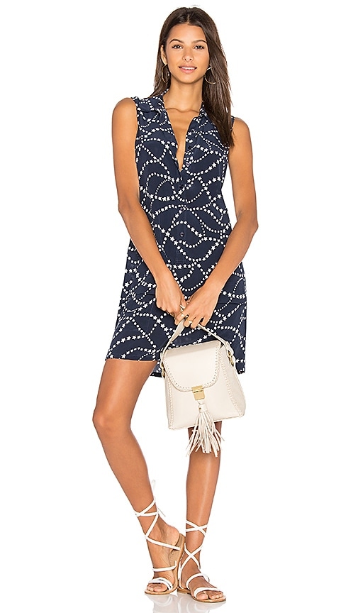 Equipment Lucida Dress in Navy