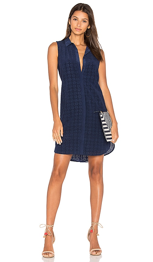 Equipment Janna Dress in Navy