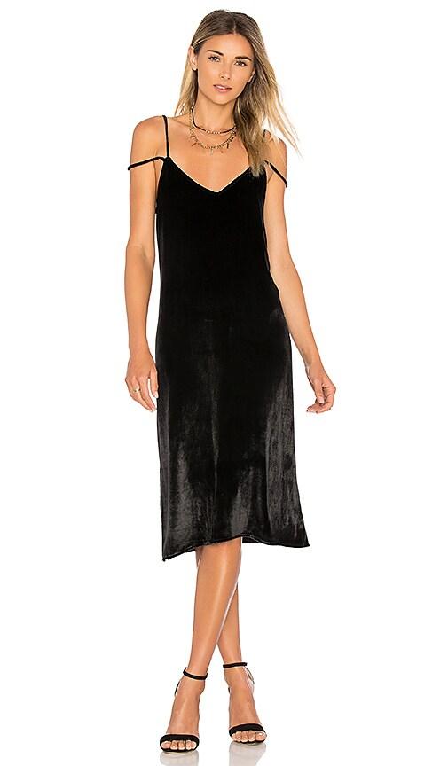 Equipment Nia Slip Dress in Black